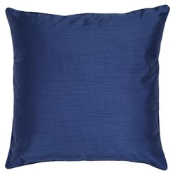 Tesco Faux Silk cushion, navy