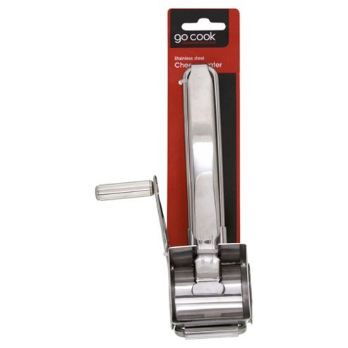 Go Cook Stainless Steel Cheese Grater