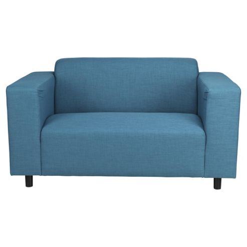 Stanza Fabric Small 2 seater  Sofa Teal