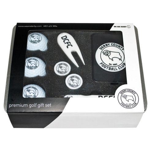 Derby County Premium Golf Tin Set