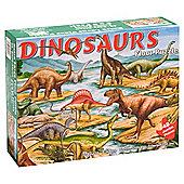Melissa & Doug Dinosaurs Floor 48 Piece Wooden Jigsaw Puzzle