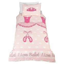 Tesco Kids Ballet Duvet Cover Set
