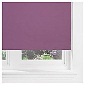 Thermal Blackout Blind 150cm Plum