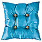 F&F Home Satin Gem Cushion, Teal