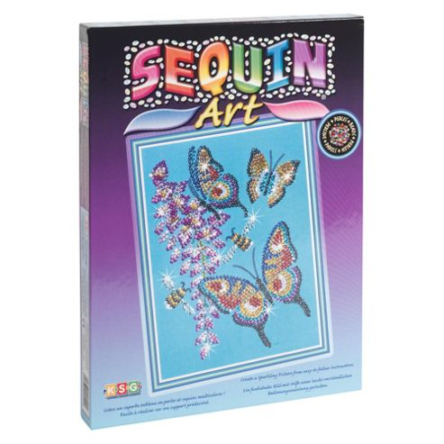 Sequin Art & Bead Butterflies