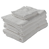 Finest Cotton Towel Bale, White