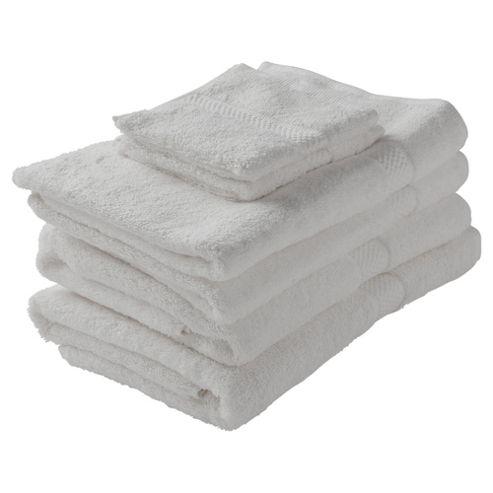 Finest Cotton Towel Bale, White
