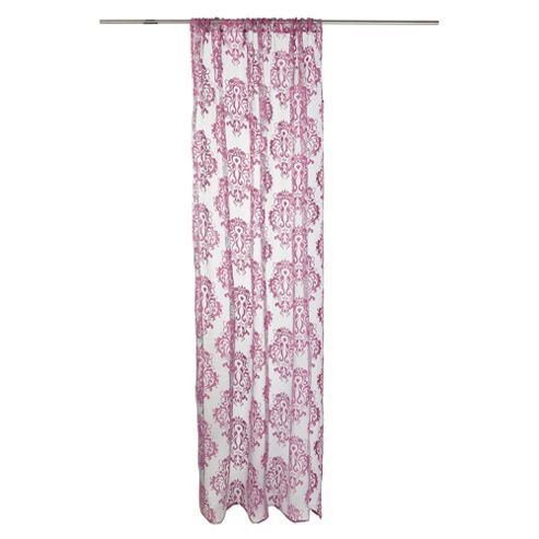 Tesco Damask Voile W137xL229cm (54x90