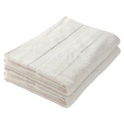 Finest Bath Towel Pair Ivory