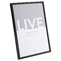 Basic Black Photo Frame A4