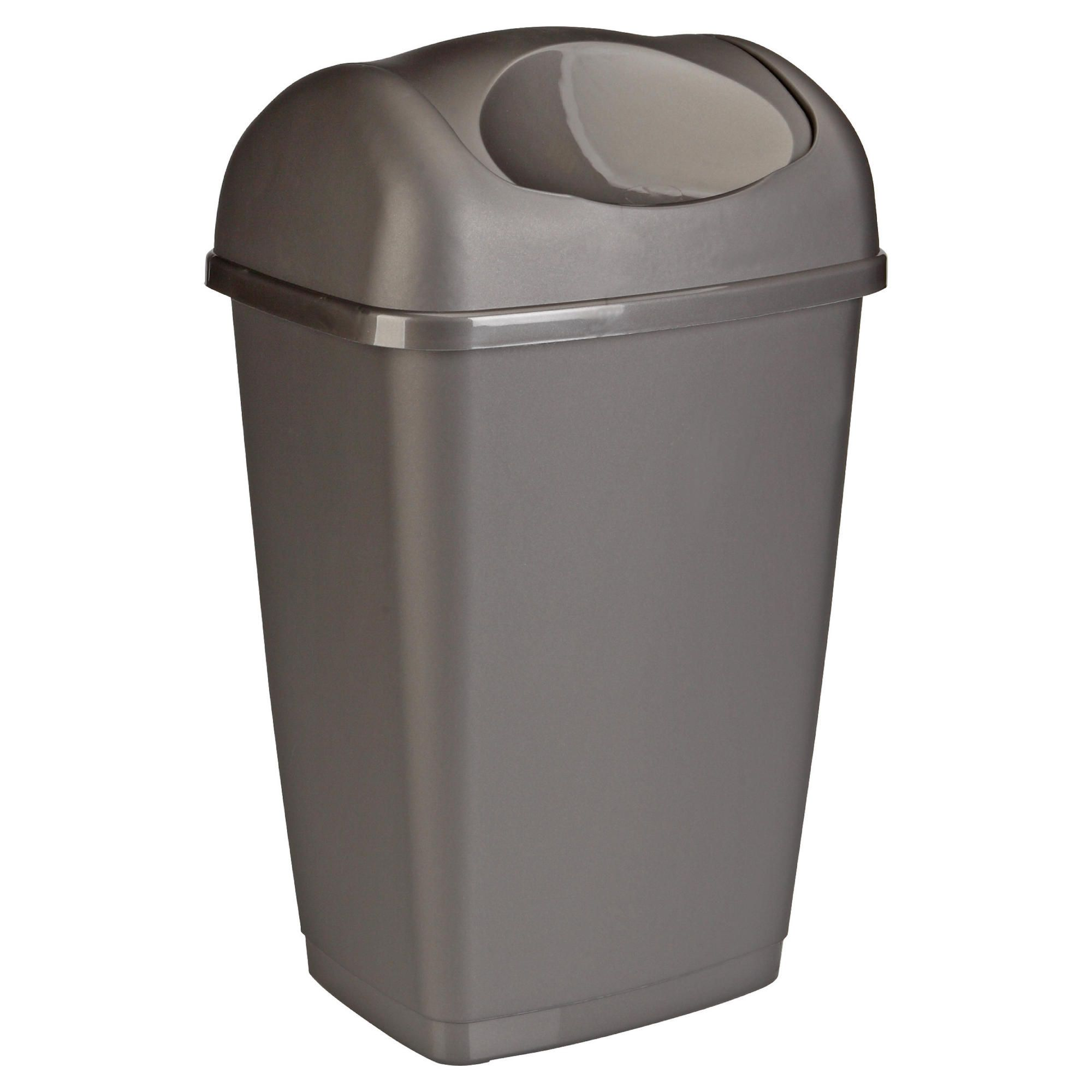 Tesco 25l Swing Bin Platinum