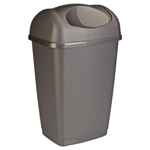 Tesco 25L Swing Kitchen Bin Platinum