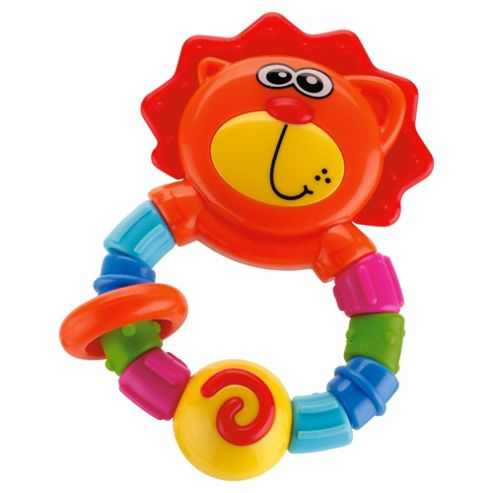 Tesco baby bendy lion teether