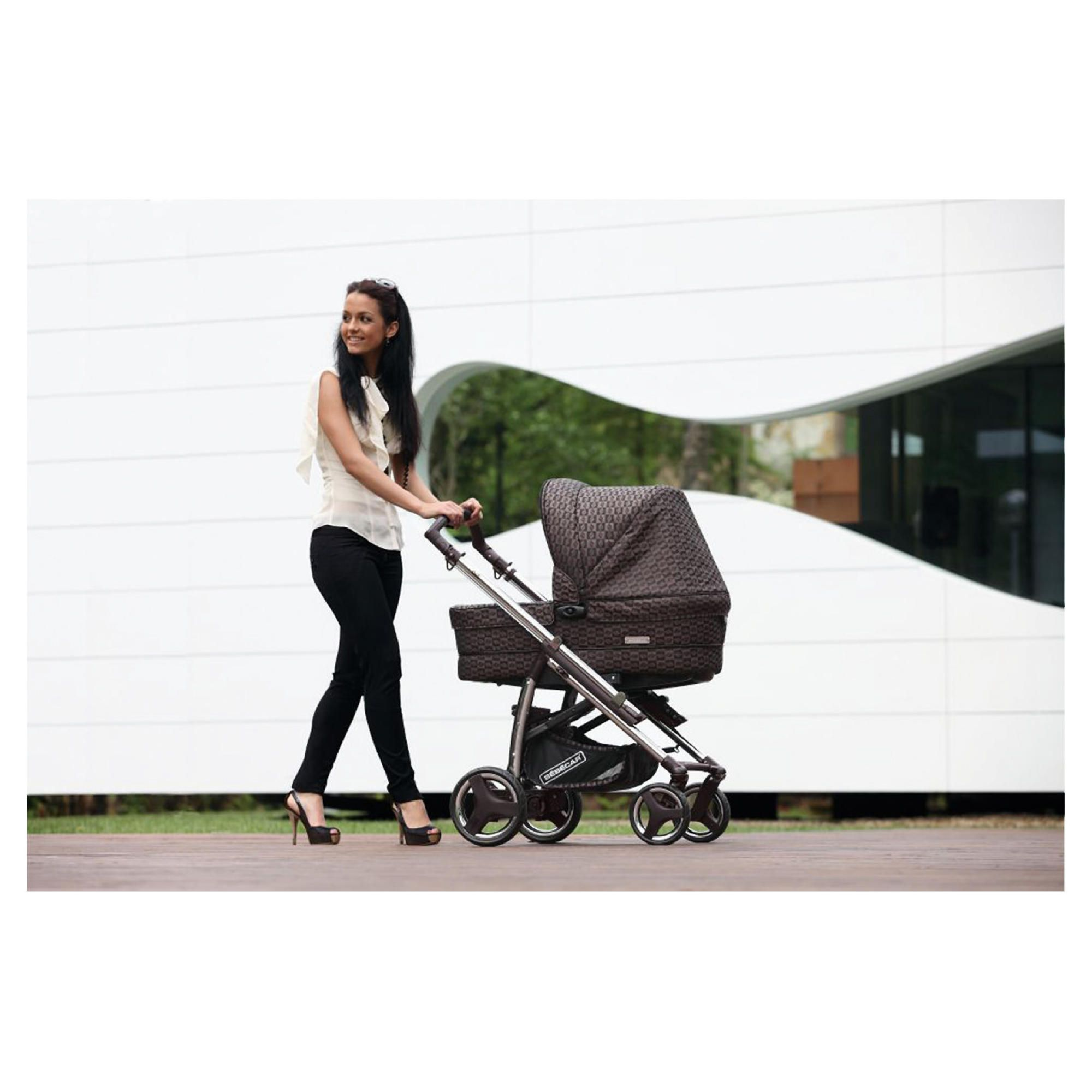Bebecar Act chrome Combination Pram, Bronze Velvet at Tesco Direct