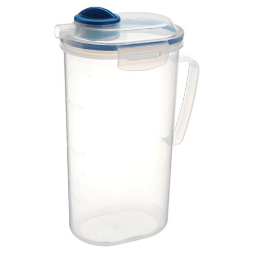 Tesco Klip Fresh 2L Juice Jug Food Container