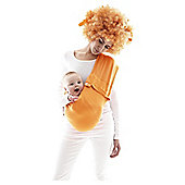 Wallaboo Baby Sling Cotton, Sun Orange