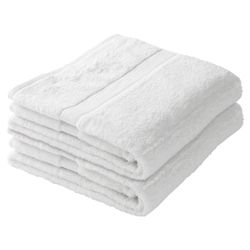 Finest Bath Towel Pair White