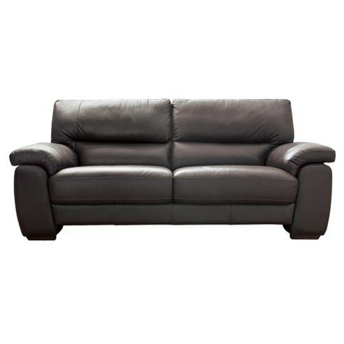 Alfredo Large Leather Sofa Cognac