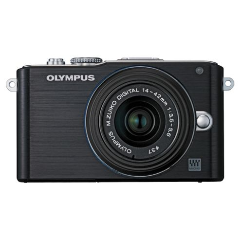 OlyMPus E-PL3 Digital Camera Black with 14-42mm lens kit