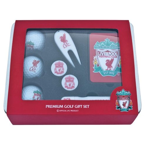 Liverpool Premium Golf Tin Set