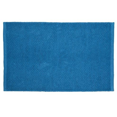Tesco Chenille Loop Mat Denim