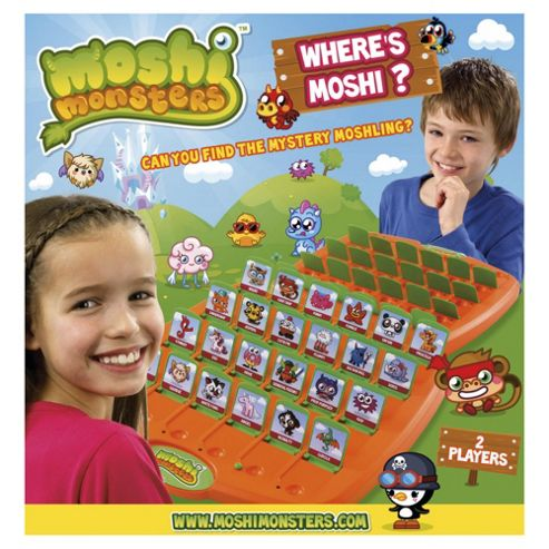Moshi Monsters Where's Moshi? Game
