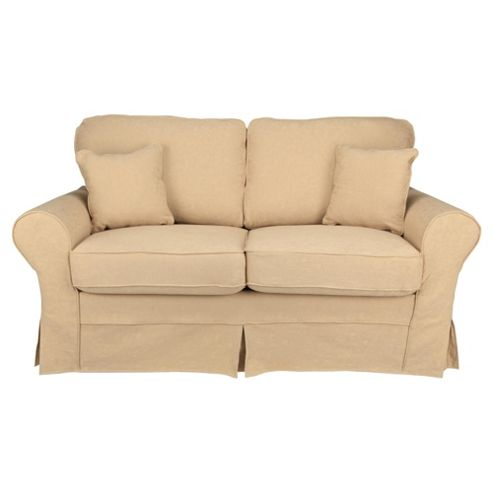 Louisa Sofa Bed with Removable Jaquard Cover, Camel