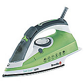 Breville VIN177 vertical steam feature Iron with Ceramic Plate - White/Green