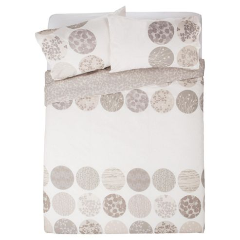 Botanical Circles Duvet Cover Set Double