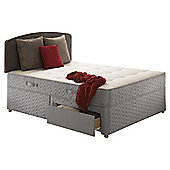 Sealy Posturepedic Ortho Backcare Plus Double 2 Drawer Divan Bed