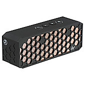 KitSound Hive 2 Bluetooth Speaker, Black and Copper