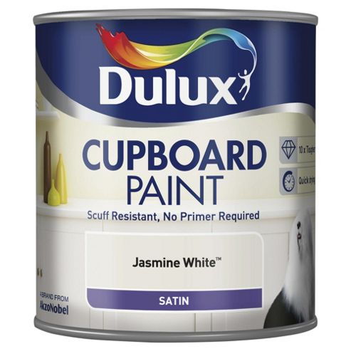 Dulux Cupboard Paint, Jasmine White, 600ml
