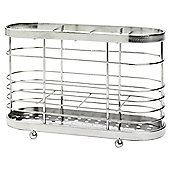 Tesco Stainless Steel Cutlery Drainer