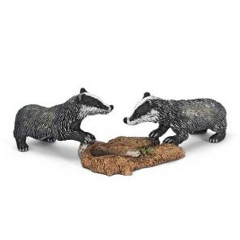Schleich Badger Cubs