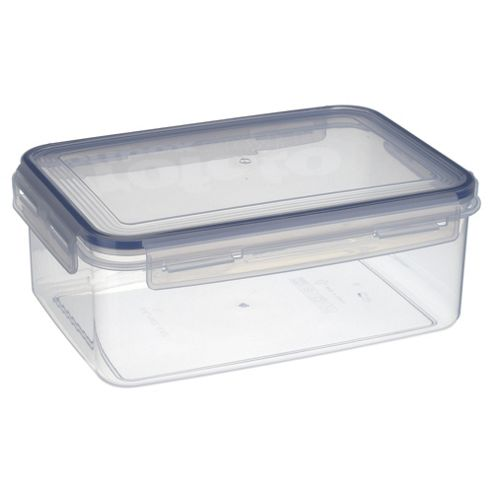 Tesco Klip Fresh 3.4L Rectangular Food Container
