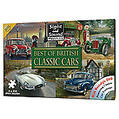 Sight & Sound British Classic Cars Puzzles