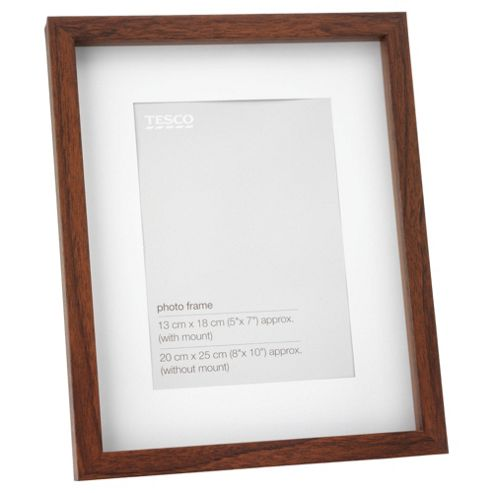 Tesco Dark wood Frame 8