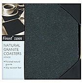 Tesco Finest Set of 4 Granite Coasters.