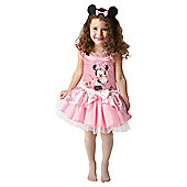 Minnie Mouse Pink Ballerina - Child Costume 3-4 years