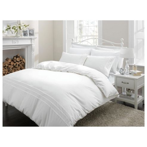 Finest Pima Cotton Piped Edge SuperKingsize Duvet Cover Set