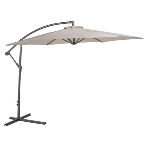 buy 3m cantilever parasol cream lilo from our parasols. Black Bedroom Furniture Sets. Home Design Ideas
