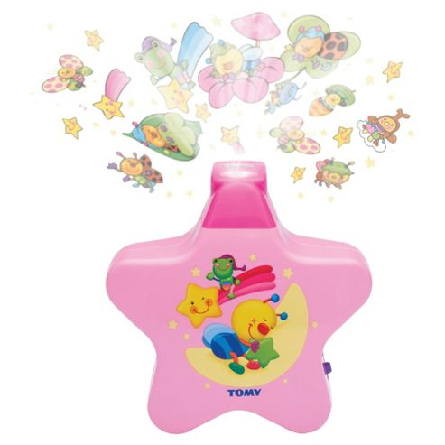 Tomy Starlight Dreamshow Musical Nightlight Pink