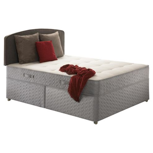 Sealy Posturepedic Ortho Backcare Plus Double Non Storage Divan Bed