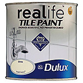Dulux Tile Paint Iced Ivory 600ml