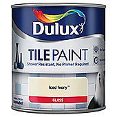Dulux Tile Paint, Iced Ivory, 600ml