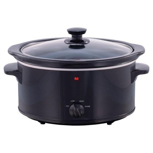 Tesco SCB11 Slow Cooker 3.3l Black