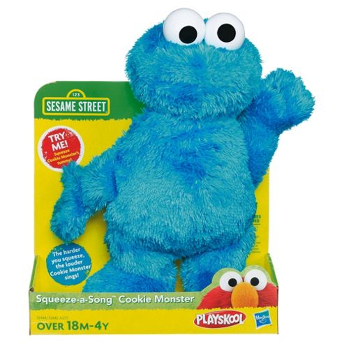 Sesame Street Squeeze and Sing Cookie Monster