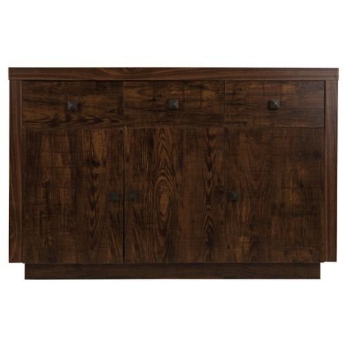Torino 3 Door Mango Effect Sideboard