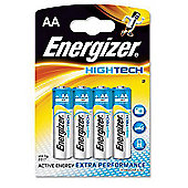 Energizer HighTech 4 Pack Alkaline AA batteries