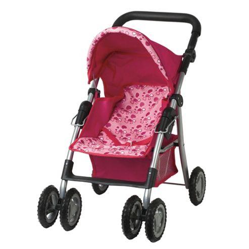 Dolls World 4 Wheel Stroller